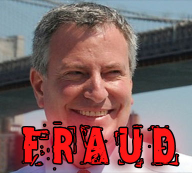 De Blasio's Unbridled Corruption Play